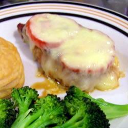 Cheezy Tomato Chops Candice
