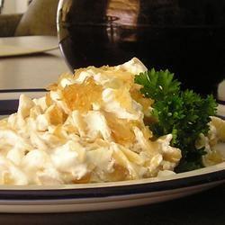 Turos Csusza (Pasta with Cottage Cheese)