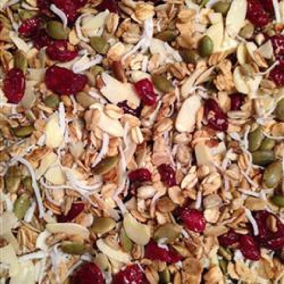 Almond Maple Coconut Granola Victoria22