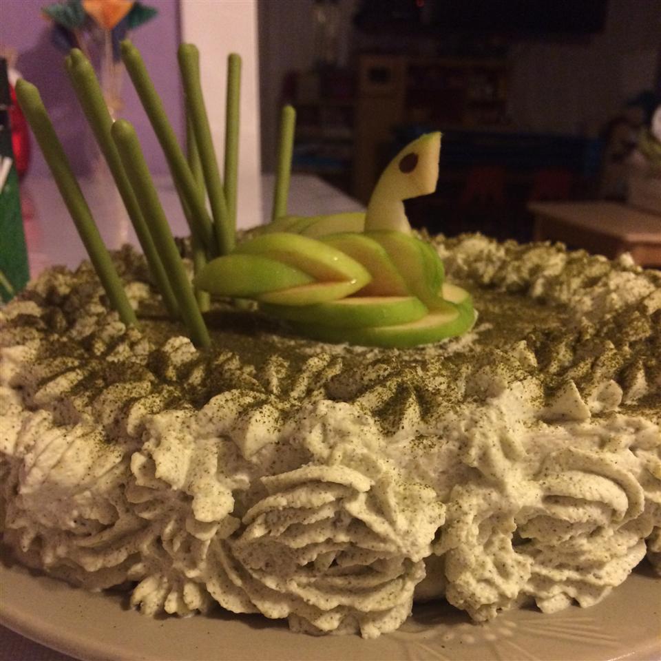 Green Tea Mousse Cheesecake