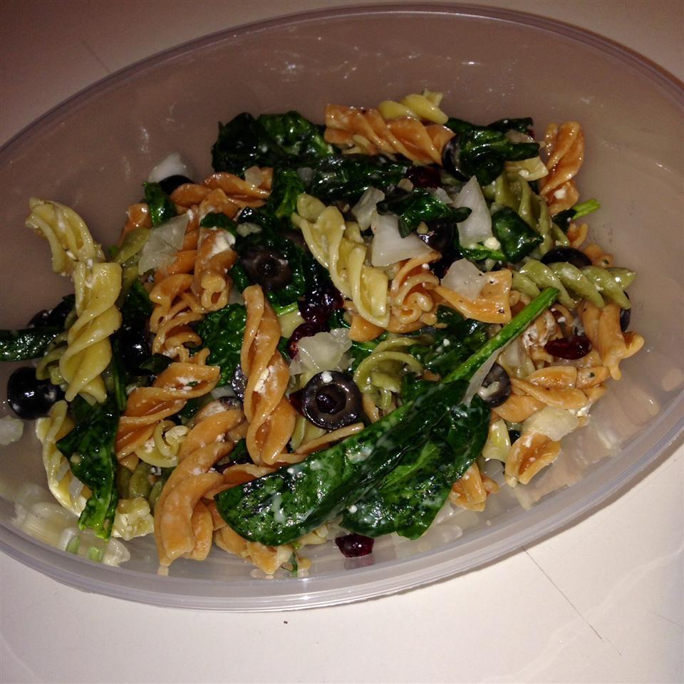 Spinach Pasta Salad alyconz
