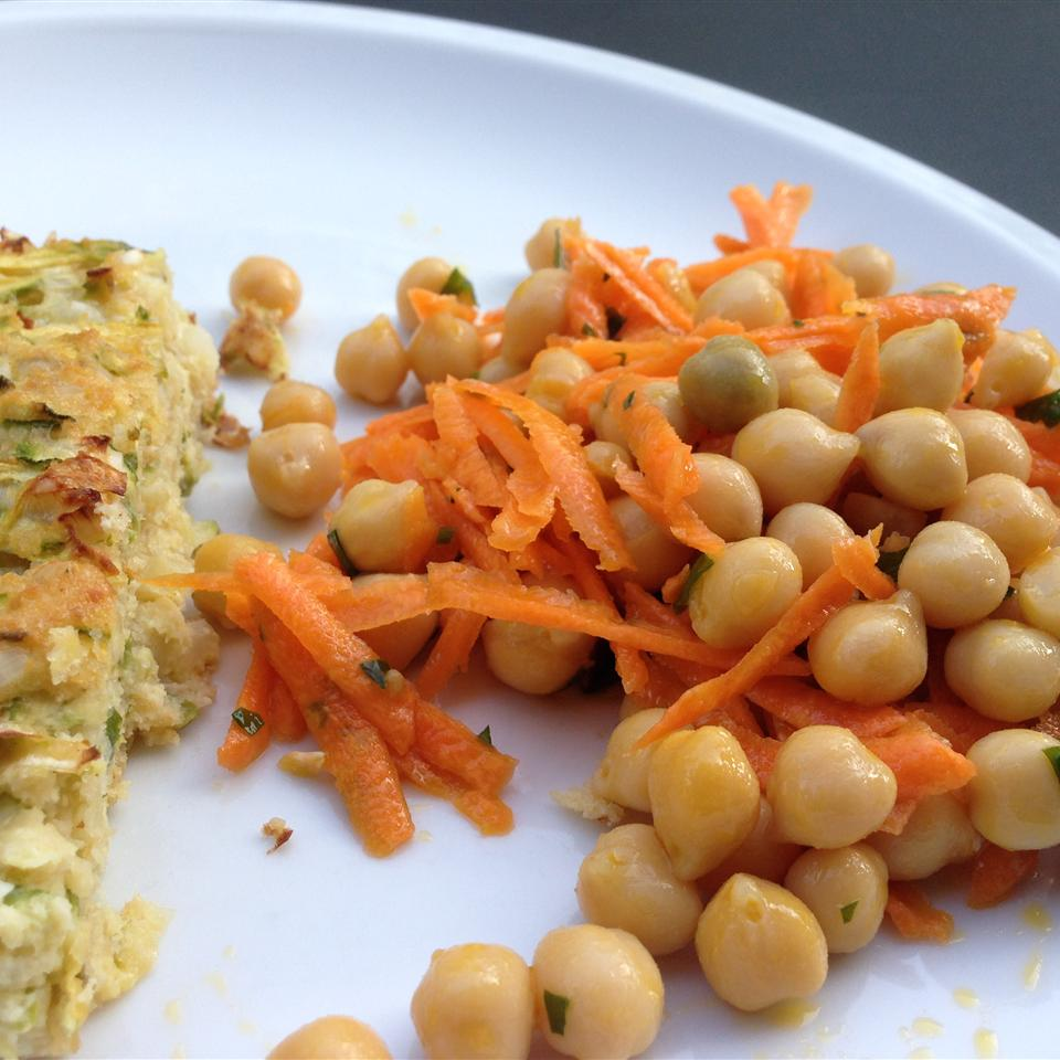 Quick and Easy Carrot and Chickpea Salad Buckwheat Queen