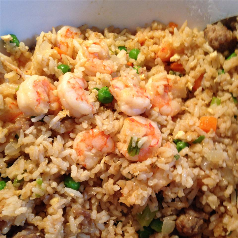 Shrimp Fried Rice I Kayla Thibodeaux