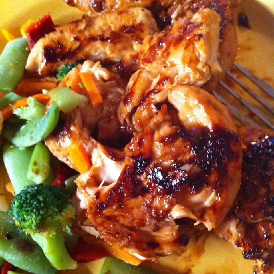 Easy Grilled Chicken Teriyaki PeaceLoveOkie85