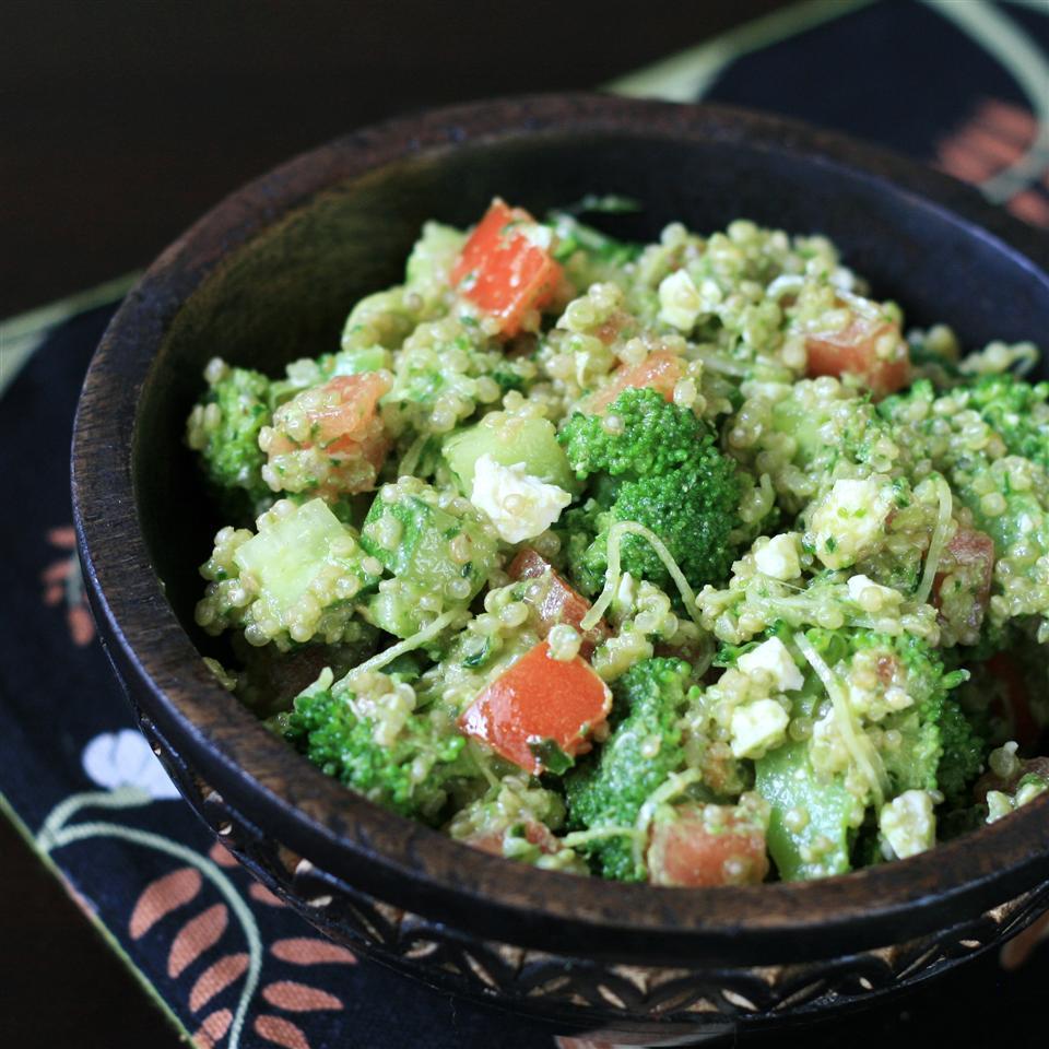 Parsley Walnut Pesto Quinoa Salad Tami Jones
