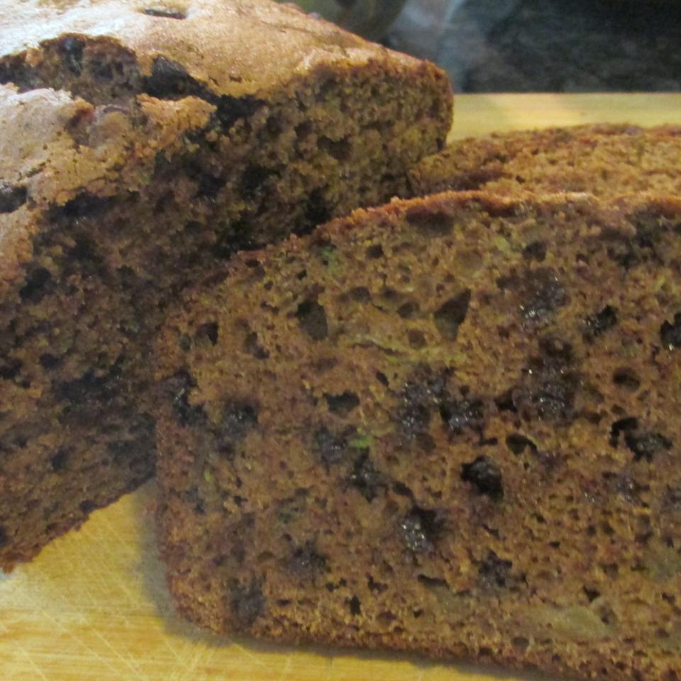 Chocolate-Cinnamon Zucchini Bread AuntE