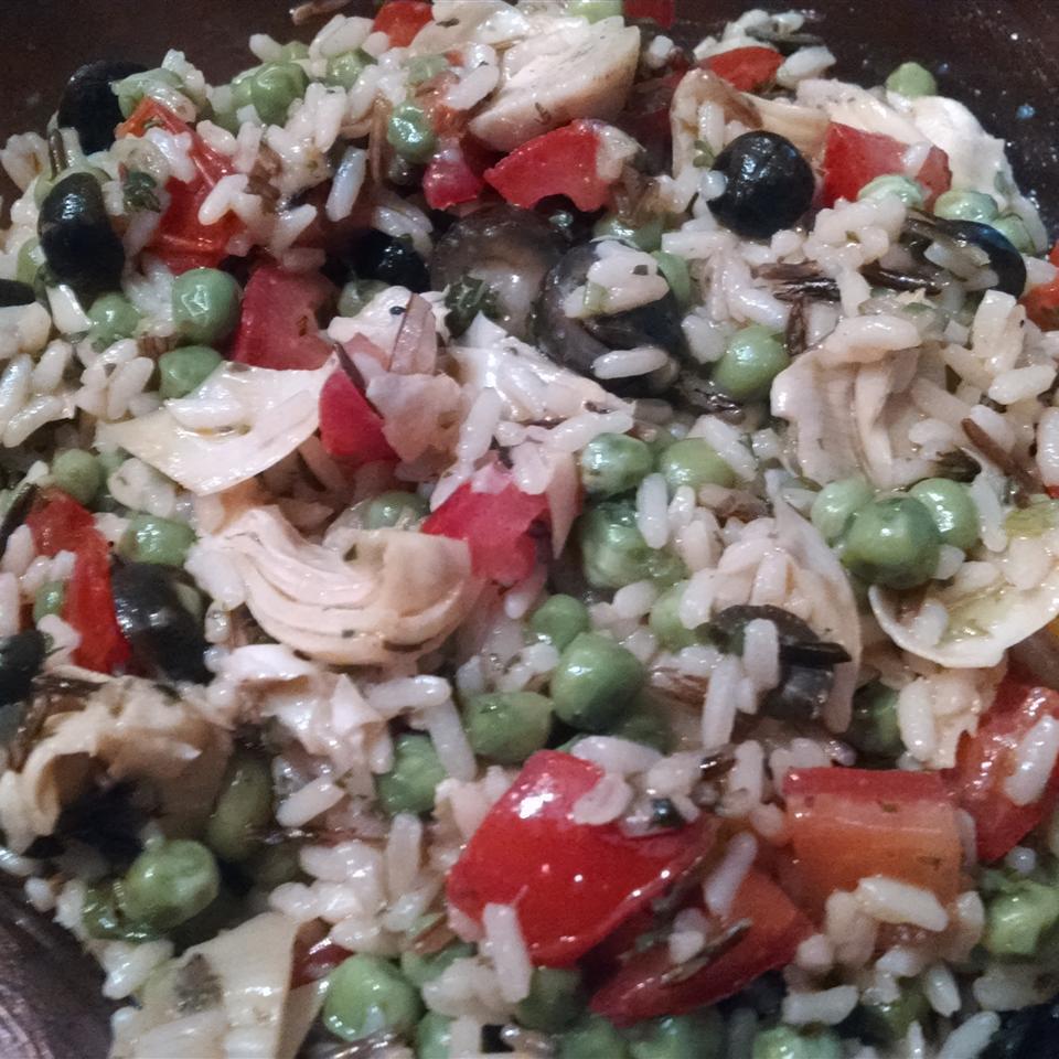 Vegetable Wild Rice Salad marceline1124