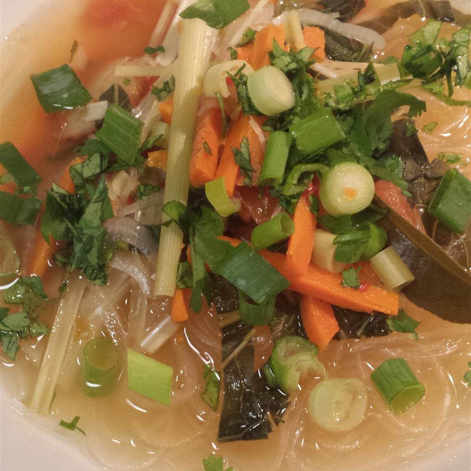 Vegetable Tom Yum Soup darzar