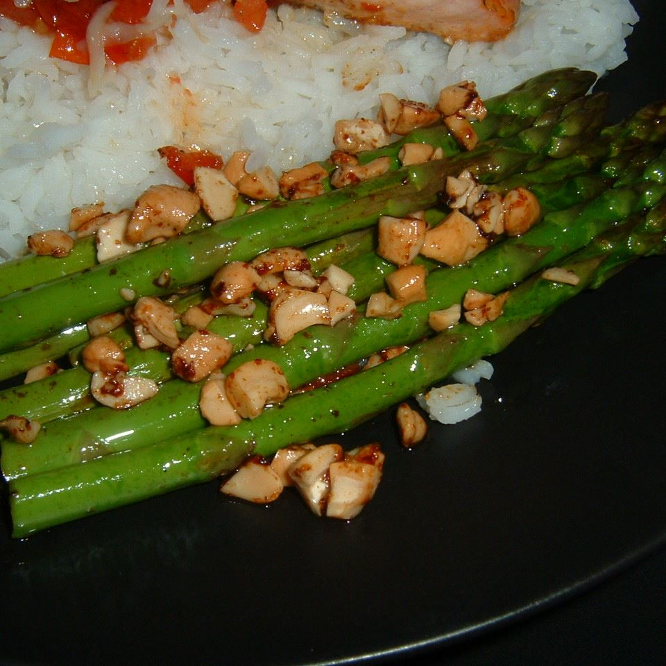 Asparagus and Cashews Caroline C