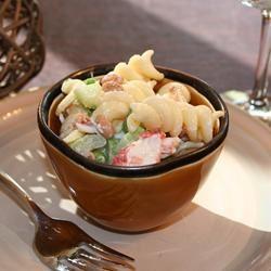 Seafood Pea-Asta Salad luv2cook