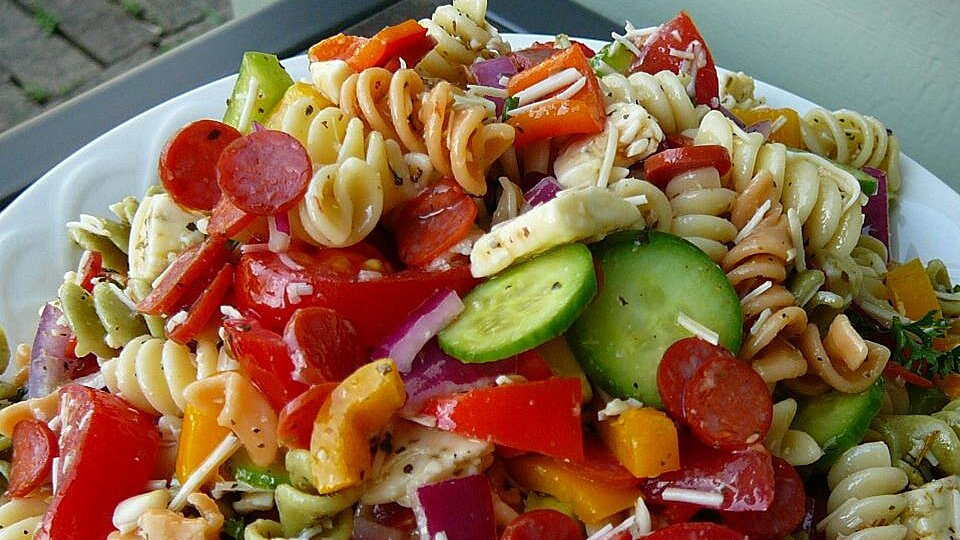 Pasta Salad With Homemade Dressing Recipe Allrecipes Com