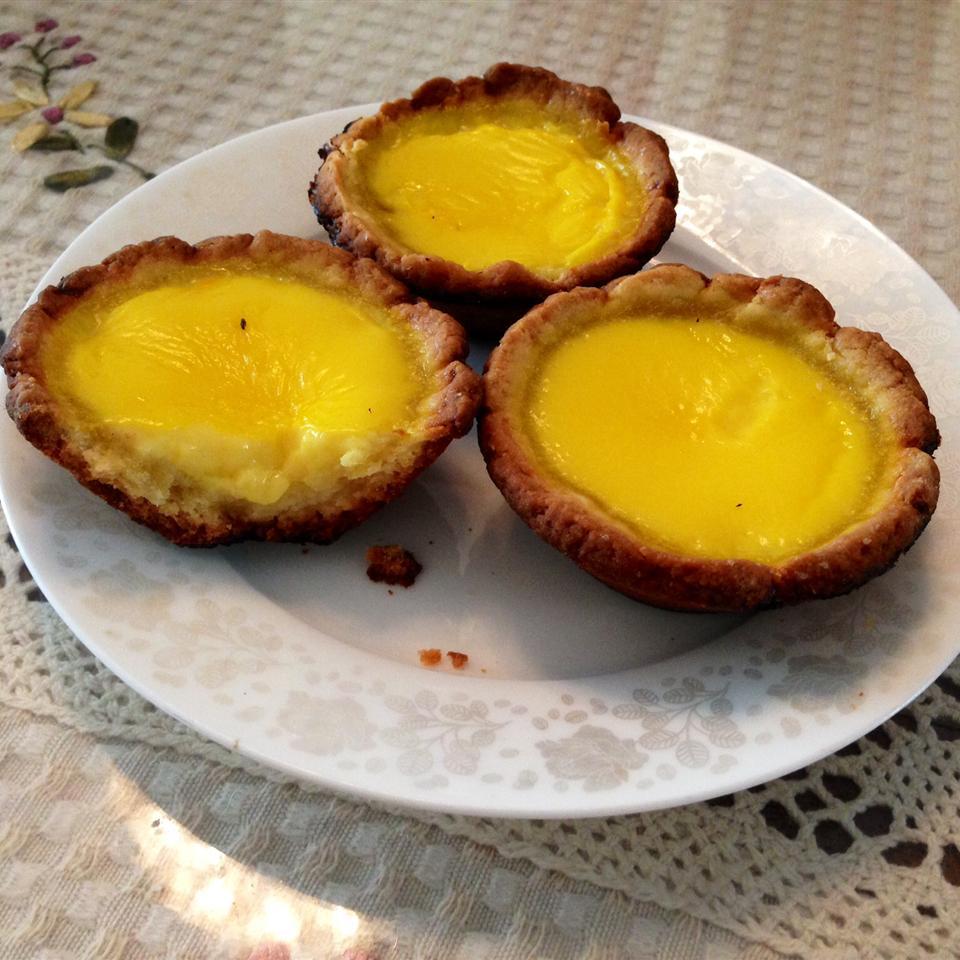 Hong Kong Style Egg Tarts heron