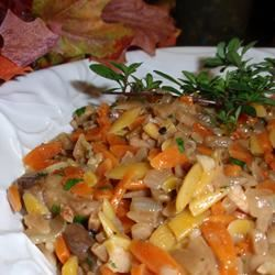 Orzo with Mushrooms and Walnuts naples34102
