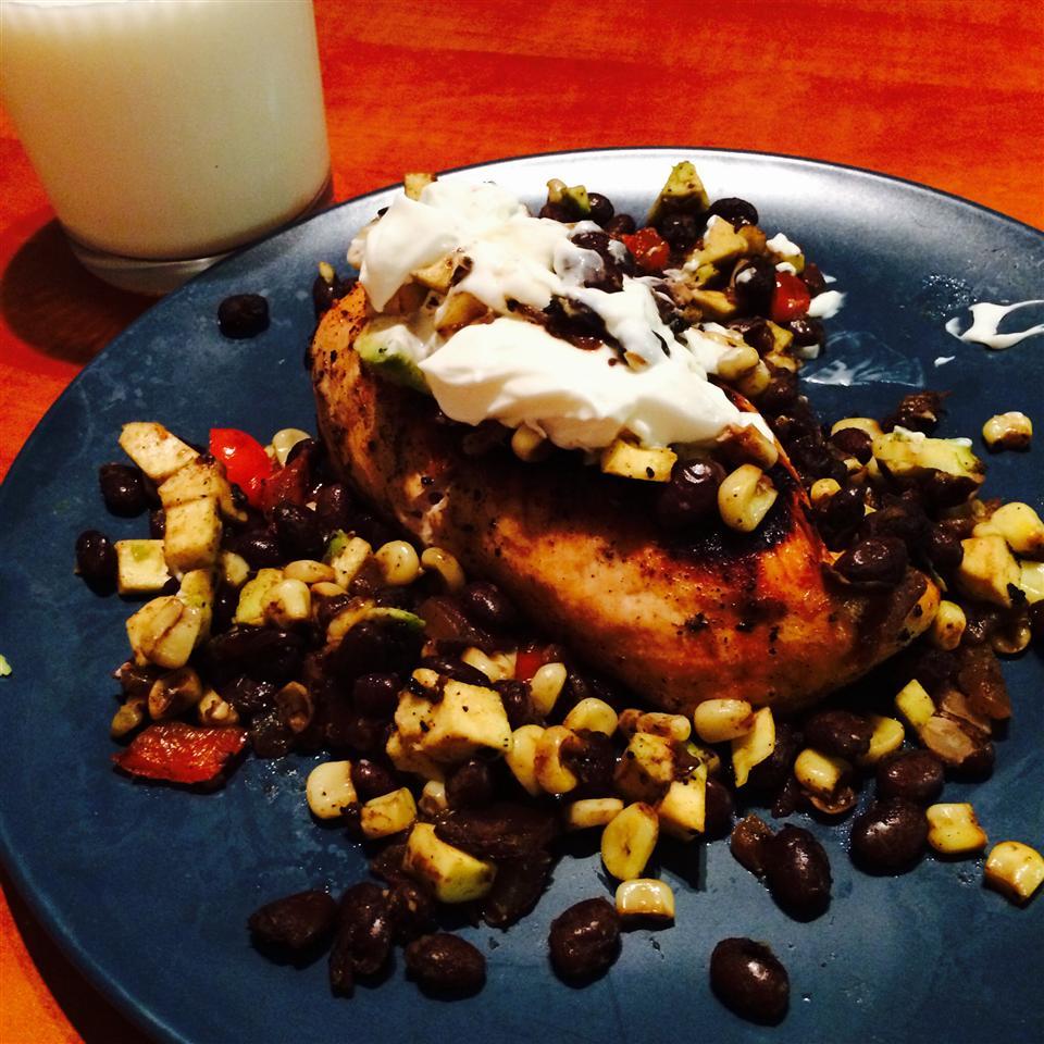 Fiesta Chicken and Black Beans kbaldwin