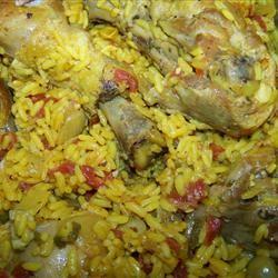 Spanish Rice Chicken I LukesMommy