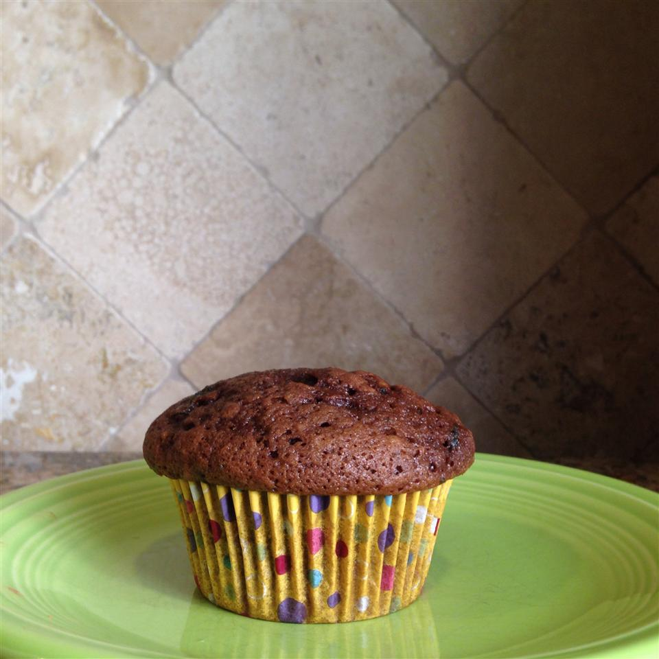 Chocolate Zucchini Muffins amberc