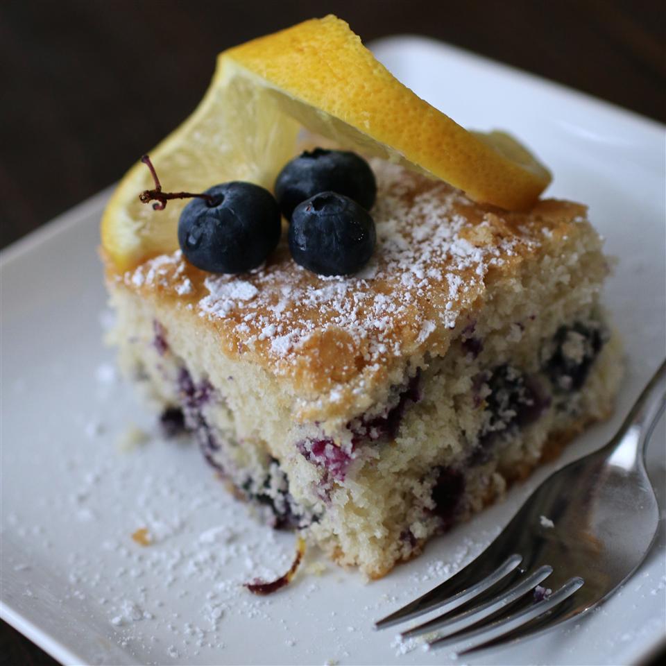 Fresh Blueberry Cake