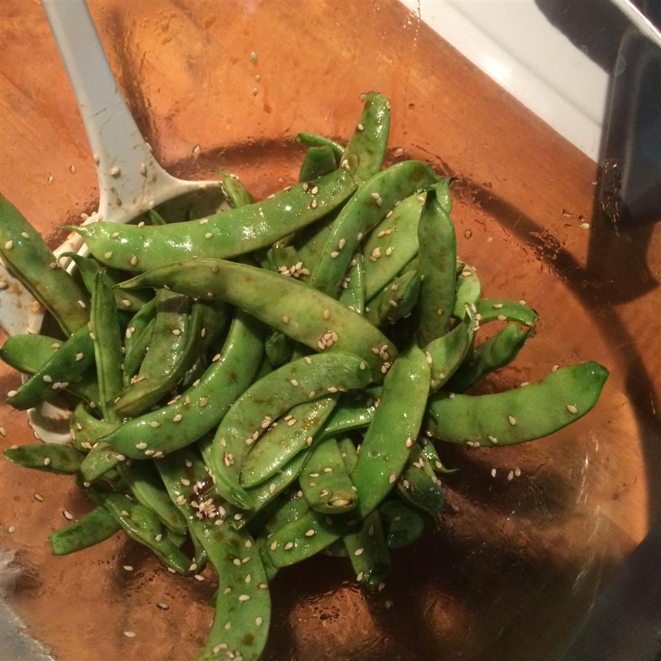 Asian Sugar Snap Pea Appetizer Mrsisabelle2u