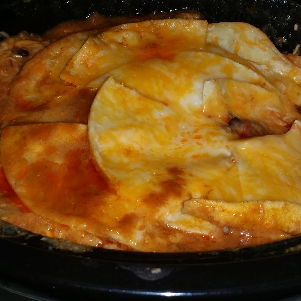 Slow Cooker Enchiladas Mi'Chelle Cooper-Tahirou