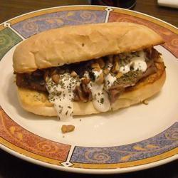 Ultimate Roast Beef Blues Sandwich ~TxCin~ILove2Ck
