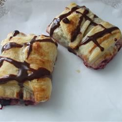 Raspberry Pain au Chocolat (Raspberry Chocolate Croissants)