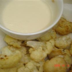 Fried Cauliflower with Tahini Sauce male