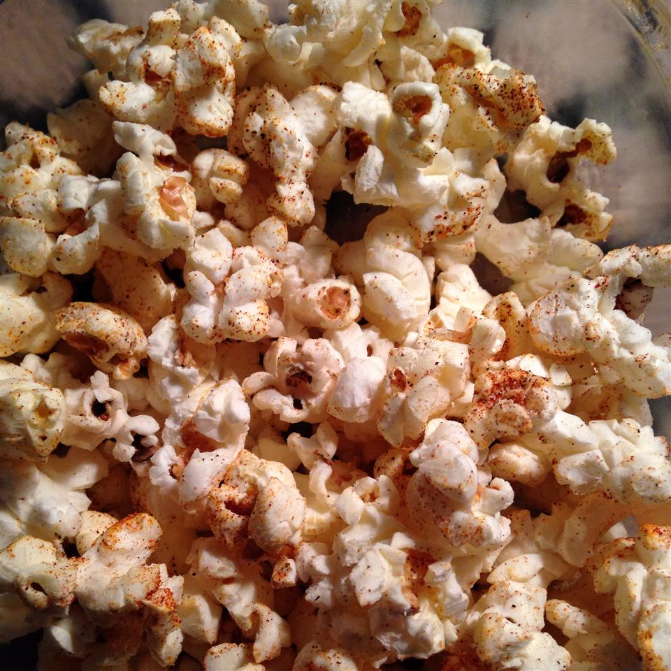 Homemade Chili Seasoning Popcorn