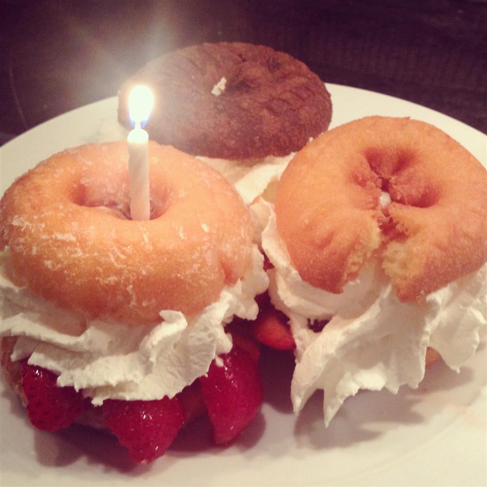 Glazed Doughnut Strawberry Shortcake Alyssa