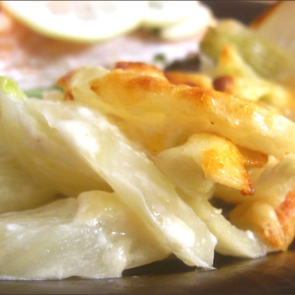 Baked Fennel with Parmesan SunFlower