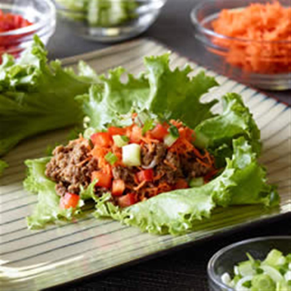 Vegan Asian Lettuce Wraps