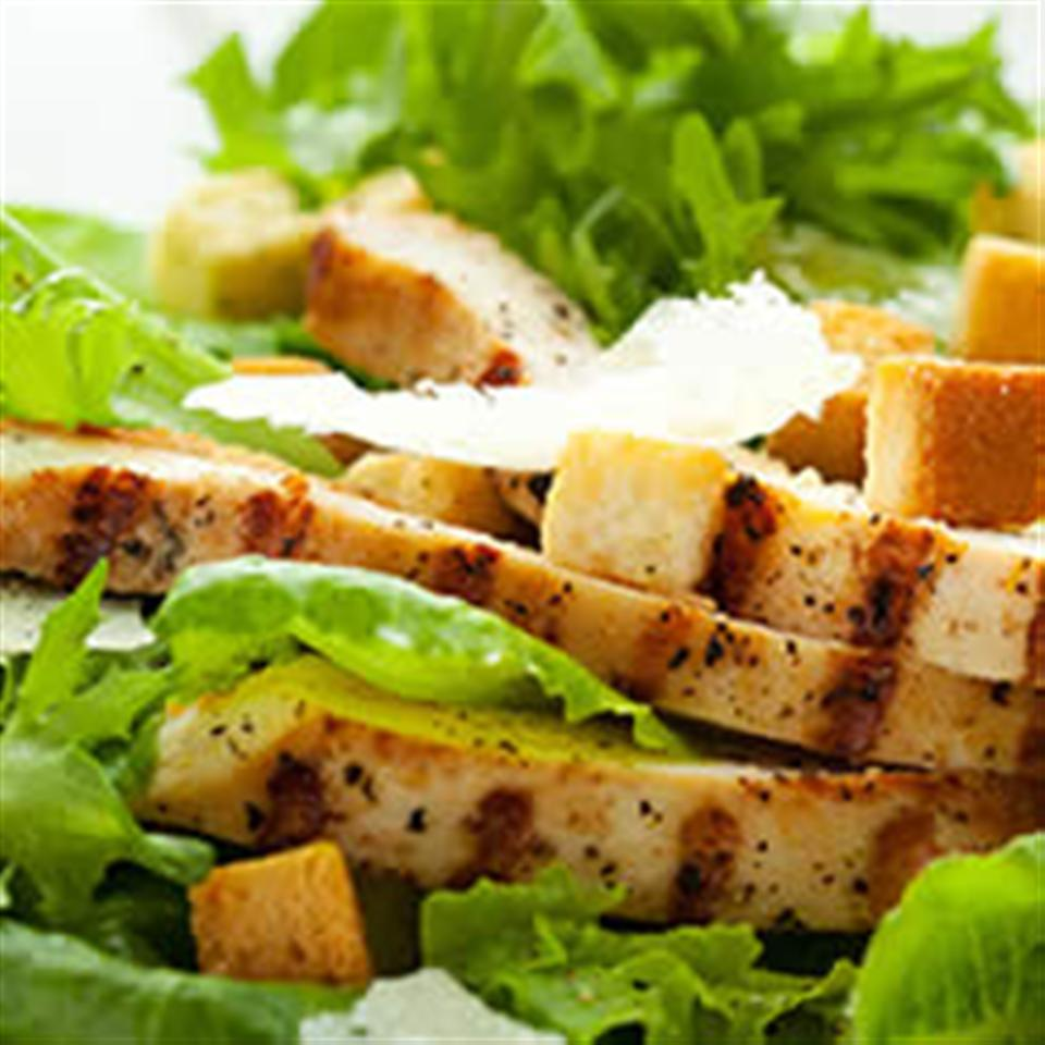 Veggie Chick'n Caesar Salad