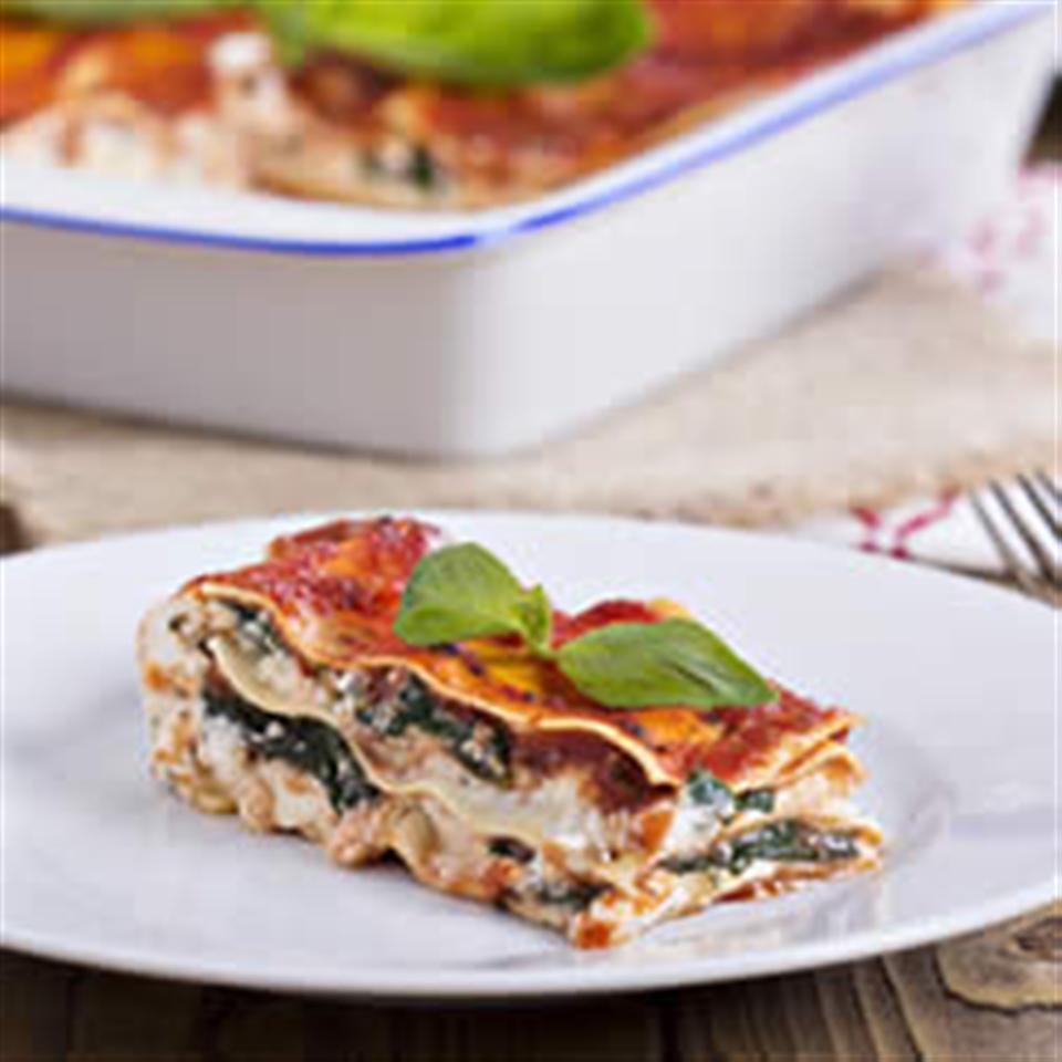 Spinach Veggie Lasagna