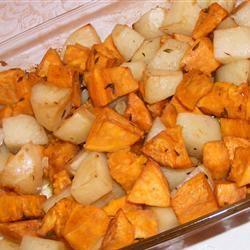 Roasted Potato Medley busymommy
