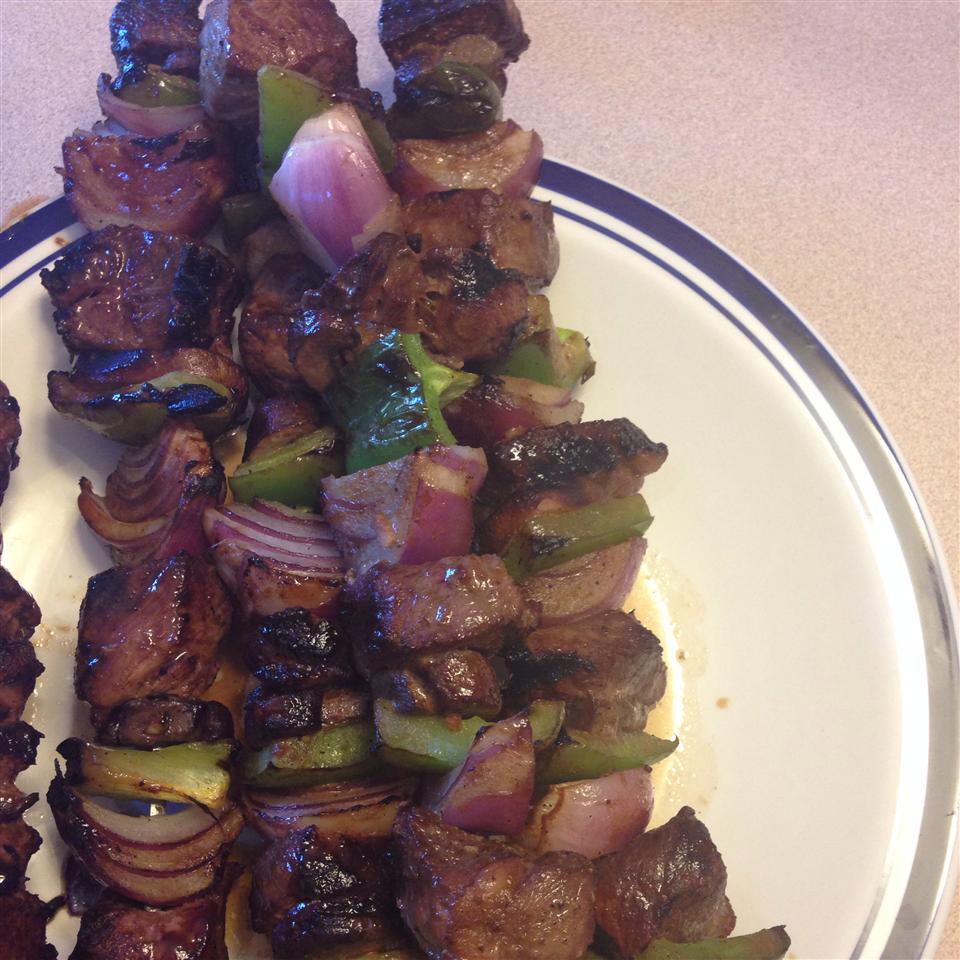 Mom's Beef Shish Kabobs Ana