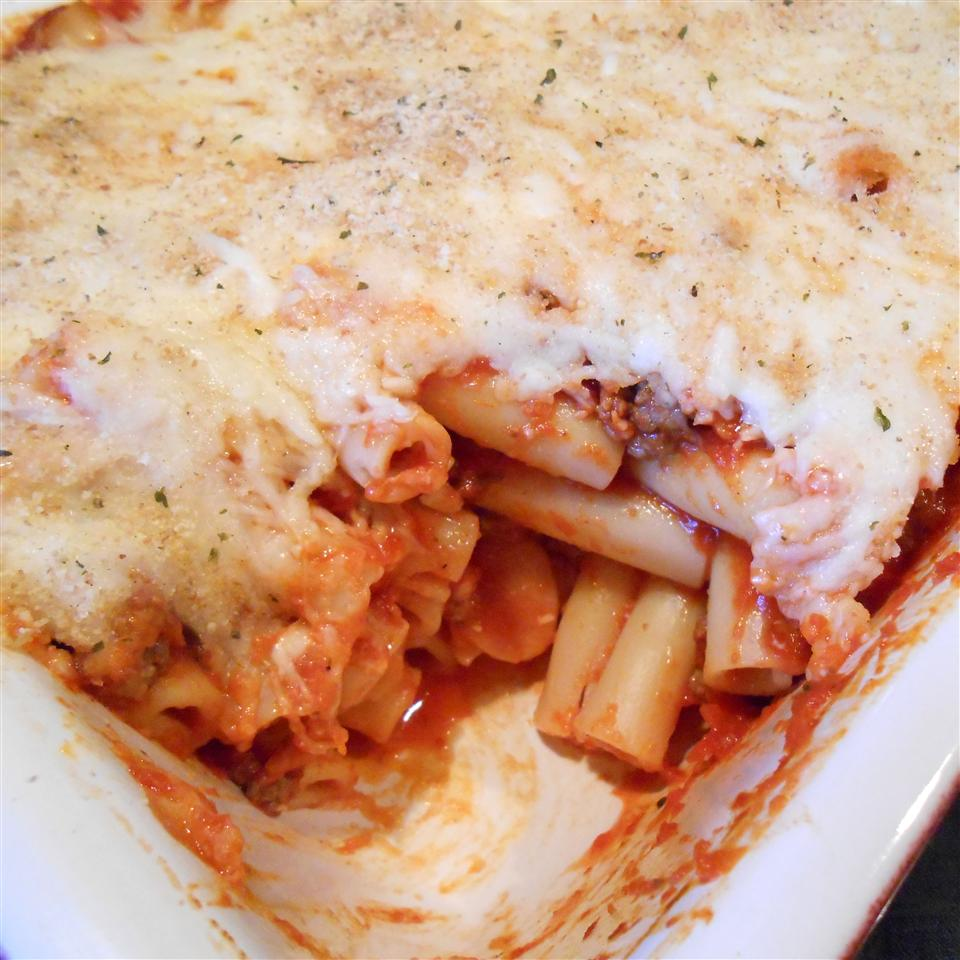 Baked Ziti with Cheese RainbowJewels