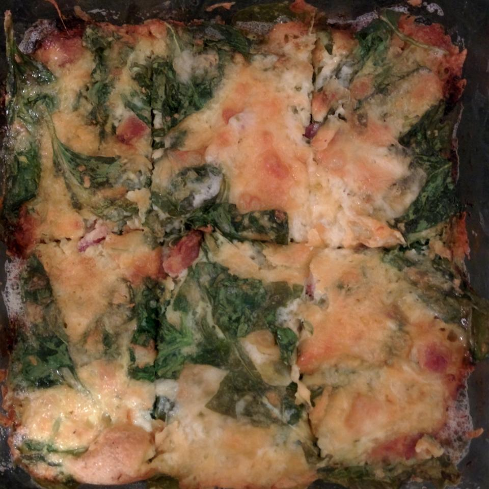 Egg and Spinach Casserole