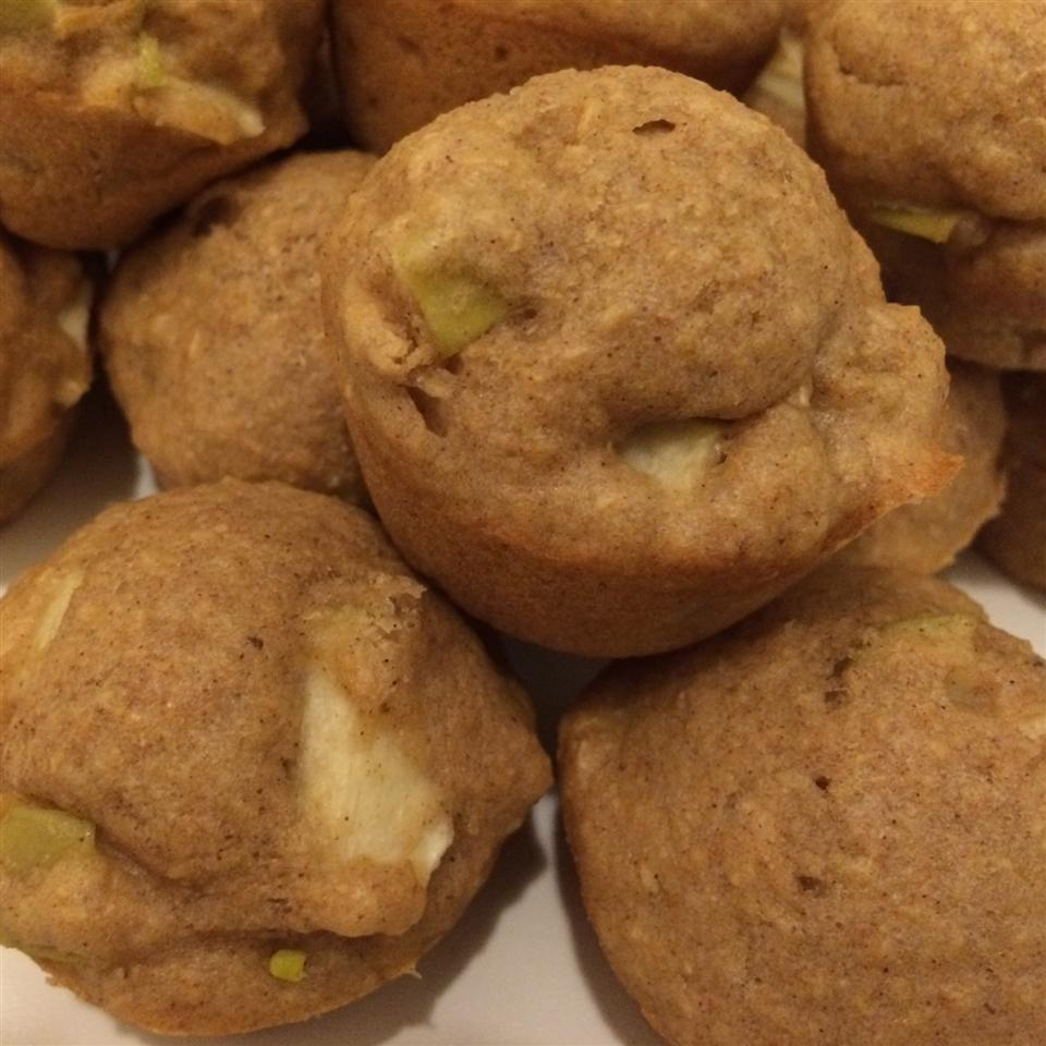 Whole Wheat Apple Muffins Rivkah