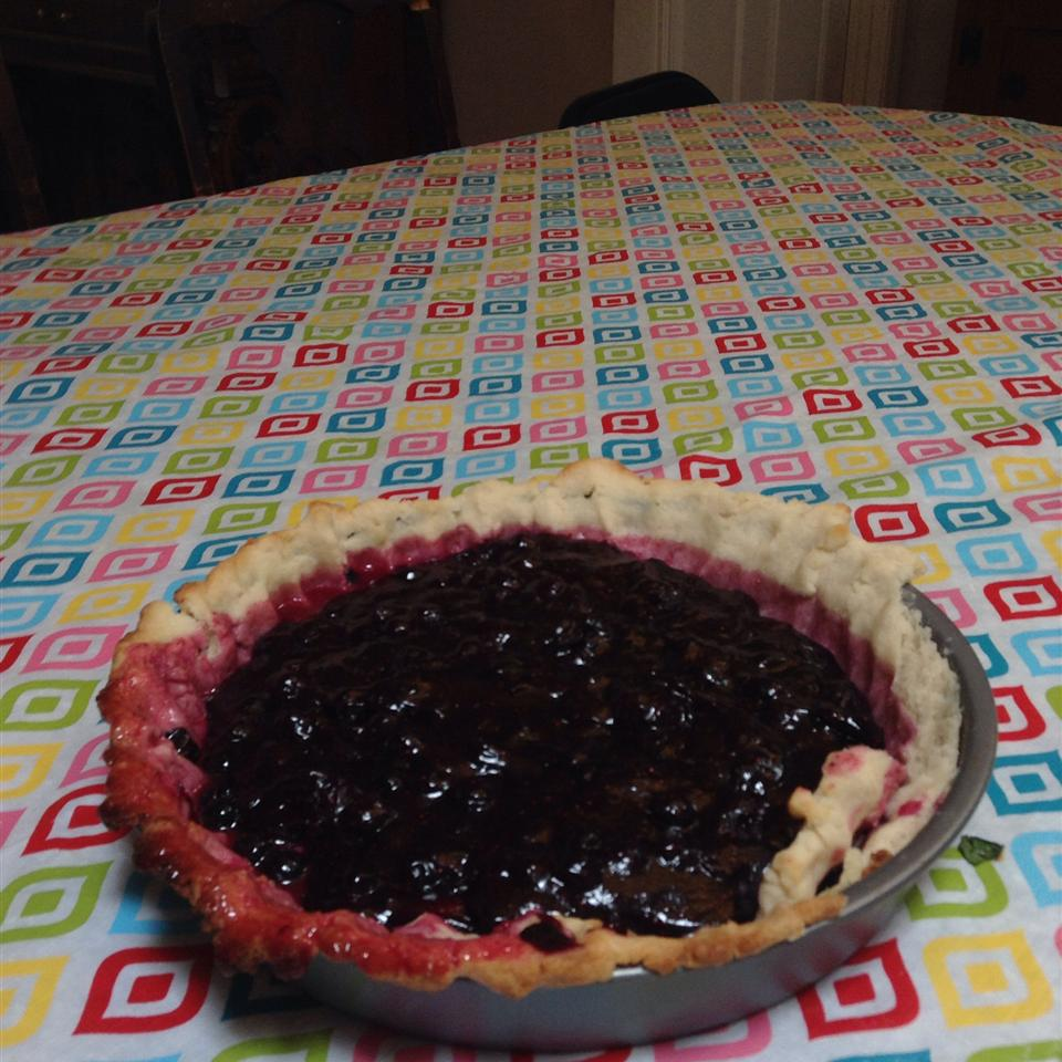 Fresh Blueberry Pie III momofsweet5