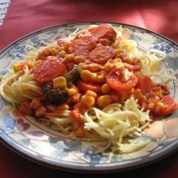 Al's Quick Vegetarian Spaghetti KitchenWitch