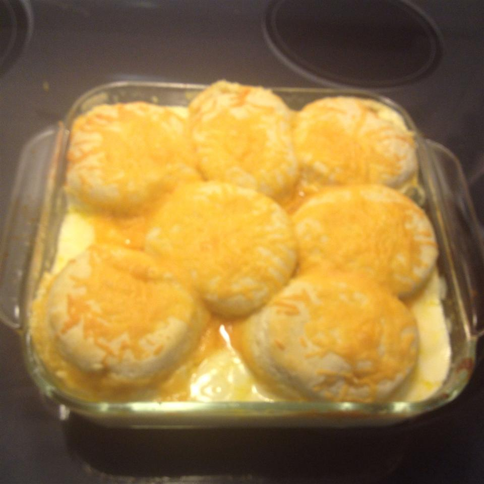 Creamed Chicken and Biscuits! Nic