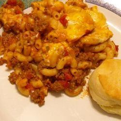 Mom's Goulash in the Microwave ~TxCin~ILove2Ck