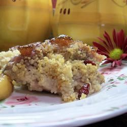 Couscous-Stuffed Pork Chops
