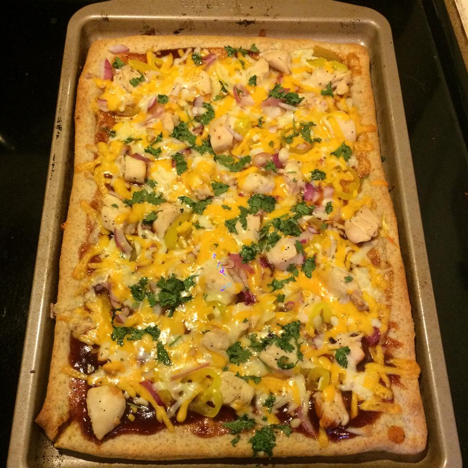 BBQ Chicken Pizza hollyanne
