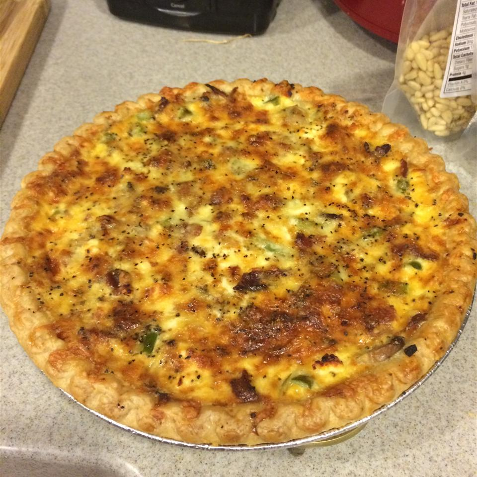 Asparagus and Mushroom Quiche Stephanie Nicole