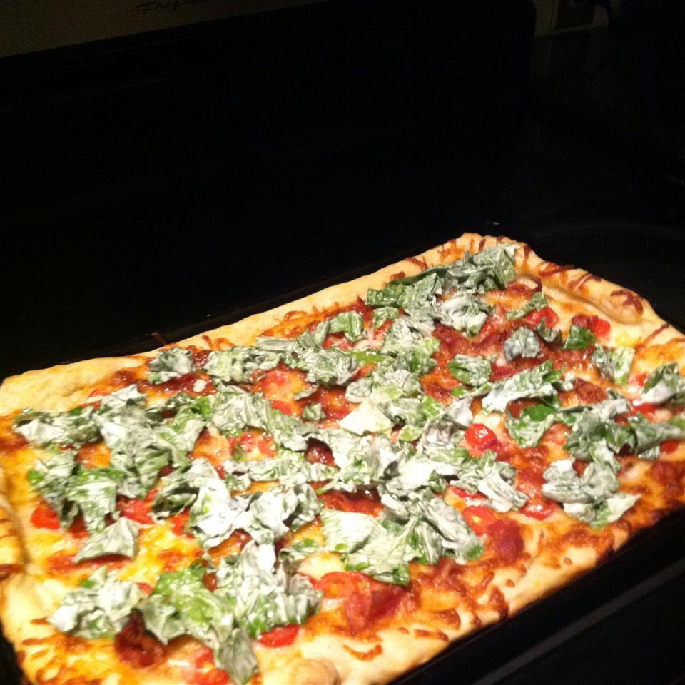 BLT Pizza heatherd