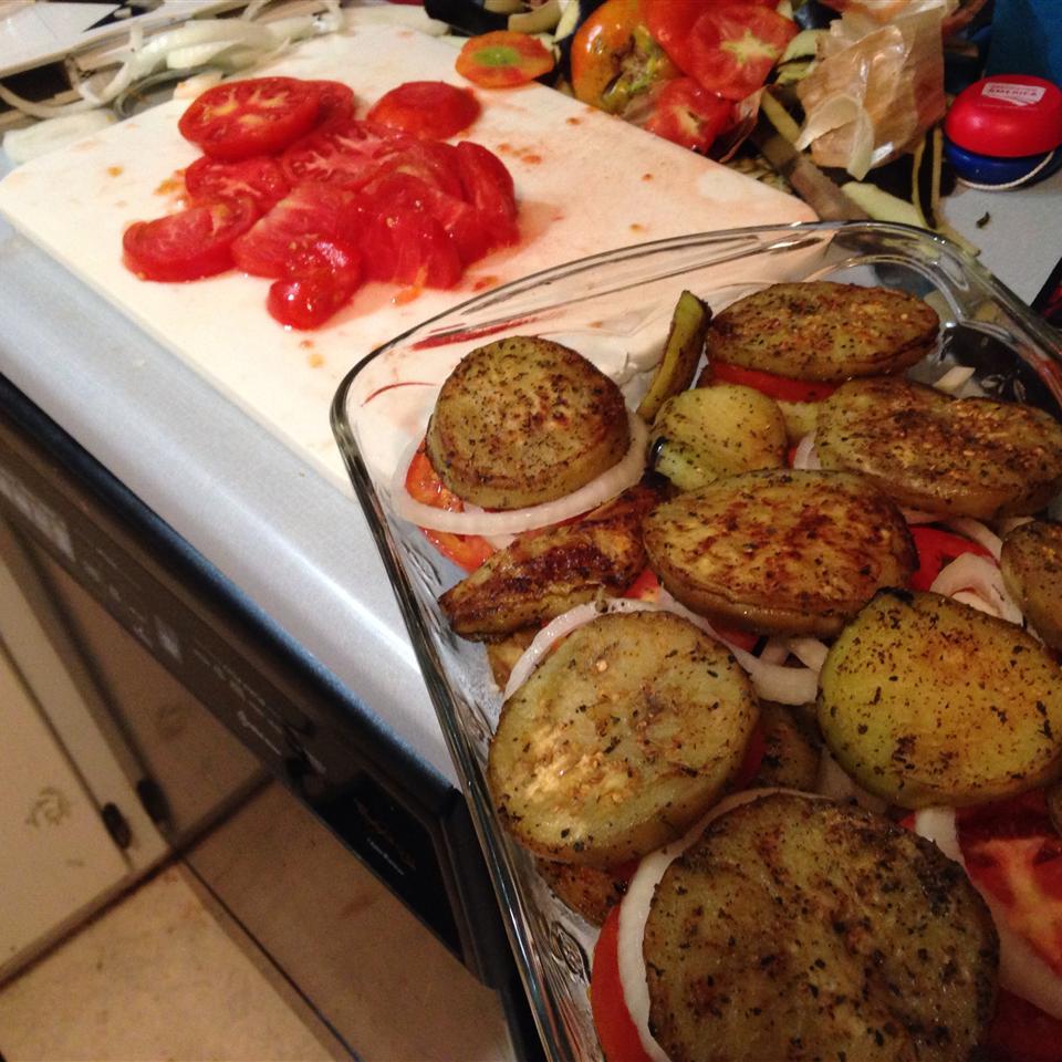 Eggplant and Tomato Casserole Linda Hook