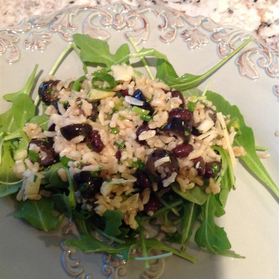 Herbed Rice and Spicy Black Bean Salad Sandy Bauder