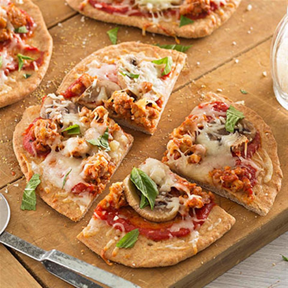 Sausage Mushroom Pizza Trusted Brands