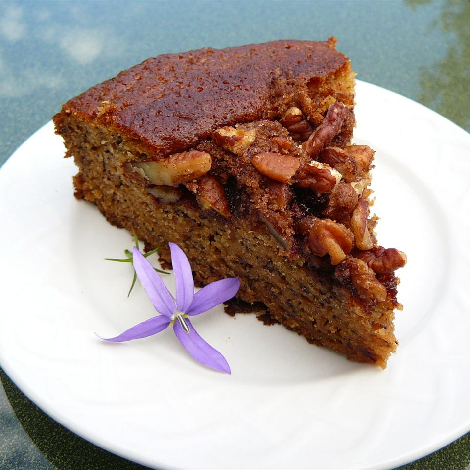 Banana Coffee Cake with Pecans