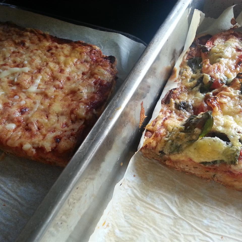 Gluten-Free Cheese and Herb Pizza Crust Rachael McNicol